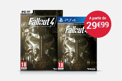 Jeux vidéo Fallout 4