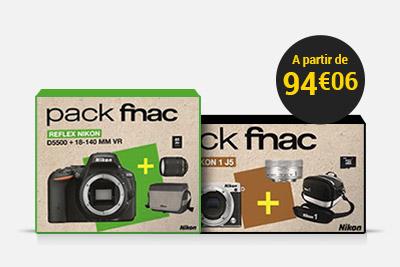 Les Packs Fnac Photo et Vidéo