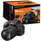 Nikon D5200 Noir+ 18- 105 mm