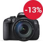 Canon EOS 700D+ Obj. 18- 135+ Sac à dos+ SD 16Go