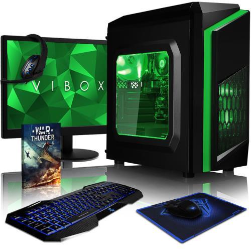 Le Vibox Killstreak LA4- est le choix parfait pour ceux qui cherchent un bon ordinateur de bureau à bas prix. Ce PC a un processeur de Dual Core, une performance graphique augmentée, une abondance de RAM, et un disque dur spacieux. Si vous utilisez votre