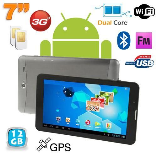 Cette tablette tactile 3G est une première tablette idéale pour ceux qui désirent un second appareil en complément de leur ordinateur. Equipée du système d´exploitation Android 4.0, elle vous permettra de profiter de la puissance d´Android et d´avoir accè