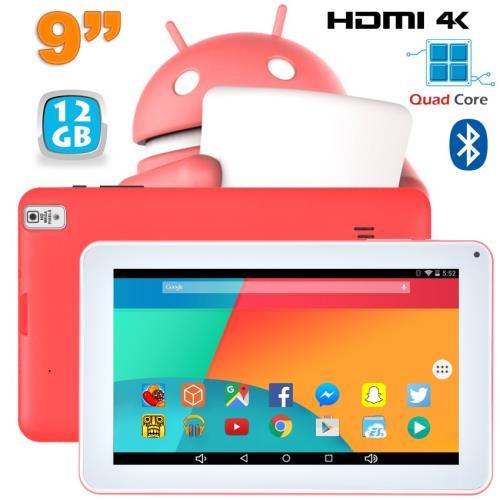 Cette tablette 9 pouces Android 6.0 est la tablette au format idéal pour toute la famille. Design moderne, légère et performante, elle conviendra parfaitement pour le surf sur Internet, l´utilisation de vos applications préférées ou pour profiter de vos c