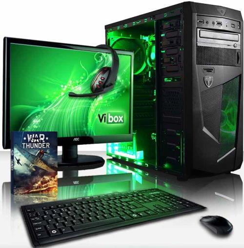 Le Vibox Standard Package 3 est le choix parfait pour ceux qui cherchent un processeur rapide de Quad Core, une performance graphique augmentée, une abondance de RAM, et un disque dur spacieux - tout en restant abordable. Si vous utilisez votre PC pour fa