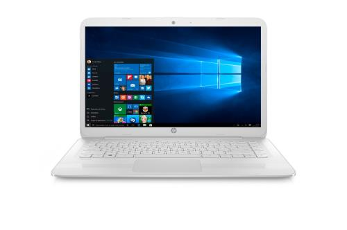 PC portable Hp STREAM 14-AX004NF OFFICE 365 PERSONNEL INCLUS - Ecran WLED 14´´ HD - Processeur Intel® Celeron® N3060 - RAM 2 Go - 32 Go eMMC - Carte graphique Intel HD 400 - Office 365 Personnel inclus - Windows 10 - Webcam intégrée - HDMI - USB 3.1 - Blu