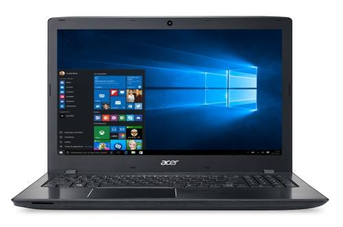 PC portable Acer ASPIRE E5-553G-T01C - Ecran LED 15,6´´ HD - Processeur AMD Quad-Core A10-9600P - RAM 4 Go - 1 To HDD - Carte graphique AMD Radeon R7 M440 2 Go dédiés - Windows 10 - Graveur DVD - HDMI - USB 3.1 Type C - Bluetooth 4.0