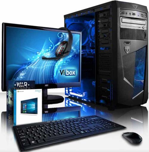 Le Vibox Precision 6 est la solution générale parfaite pour tous ceux qui cherchent à combiner un processeur très rapide de Quad curs avec une abondance de RAM, un disque dur spacieux et une carte graphique dédiée. Ce PC est une solution à prix bas pour j
