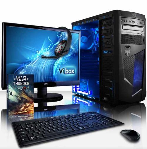Le Vibox Vision 2 est le choix parfait pour ceux qui cherchent un bon ordinateur de bureau à bas prix. Ce PC a un processeur de Dual Core, une performance graphique augmentée, une abondance de RAM, et un disque dur spacieux. Si vous utilisez votre PC pour
