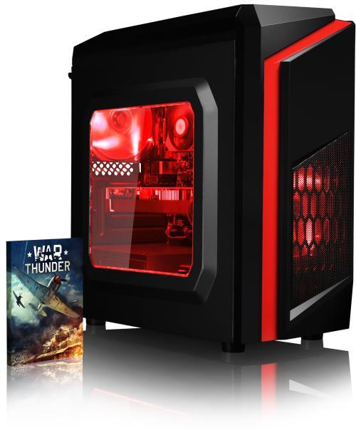 Le Vibox Killstreak RS460- offre une performance visuelle fantastique! Il combine un processeur très rapide avec de Quad cores, une abondance de RAM, un disque dur spacieux, et une des cartes graphiques les plus puissantes actuellement. Ce PC vous permet