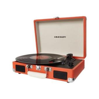platine portable crosley cruiser orange platine d 39 coute. Black Bedroom Furniture Sets. Home Design Ideas