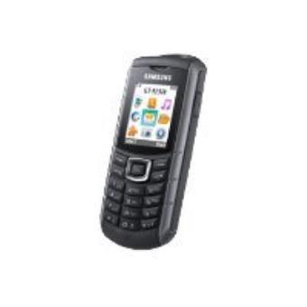 Samsung GT E2370 Megacell - zwart, zilver - GSM
