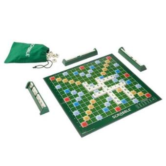 hasbro 0604026 jeu de r flexion scrabble original achat prix fnac. Black Bedroom Furniture Sets. Home Design Ideas