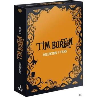 TIM BURTON COLL 2015-8DVD-FR