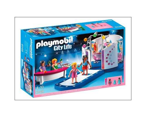 Playmobil City Life  Podium pour casting de mode a w