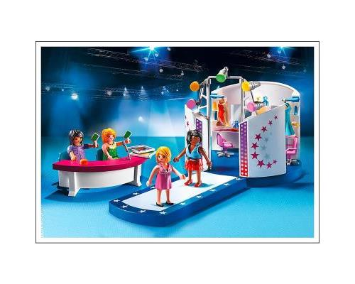 itm Playmobil City Life  Podium pour casting de mode