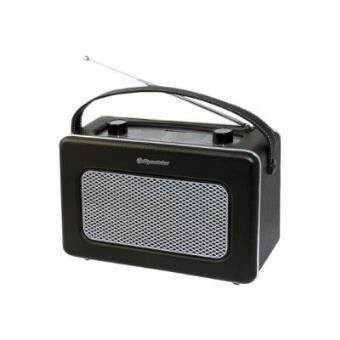 roadstar tra 1958 bk radio portable design retro vintage r veil achat prix fnac. Black Bedroom Furniture Sets. Home Design Ideas