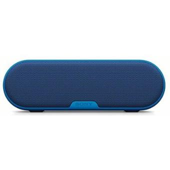enceinte portable sony srs xb2 sans fil bleu mini. Black Bedroom Furniture Sets. Home Design Ideas