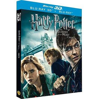 harry potter harry potter et les reliques de la mort partie 1 combo blu ray 3d 2d coffret. Black Bedroom Furniture Sets. Home Design Ideas