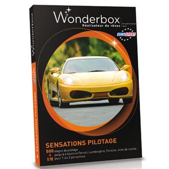 wonderbox coffret sensations pilotage coffrets cadeaux acheter sur. Black Bedroom Furniture Sets. Home Design Ideas