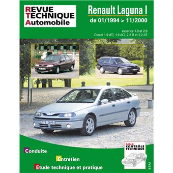 revue technique automobile renault laguna phase 1 et 2 es. Black Bedroom Furniture Sets. Home Design Ideas