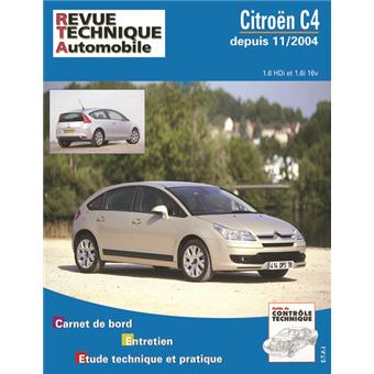 revue technique automobile 697 1 citro n c4 broch. Black Bedroom Furniture Sets. Home Design Ideas