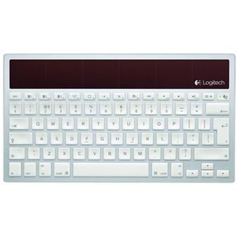 logitech clavier sans fil aliment par la lumi re k760 pour mac clavier achat prix fnac. Black Bedroom Furniture Sets. Home Design Ideas