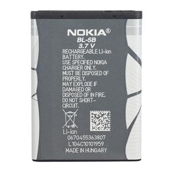 nokia batterie bl 5b batterie pour t l phone mobile achat prix fnac. Black Bedroom Furniture Sets. Home Design Ideas