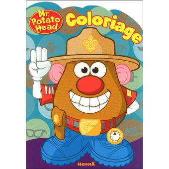 Monsieur patate coloriage monsieur patate scout - Mr patate dessin ...