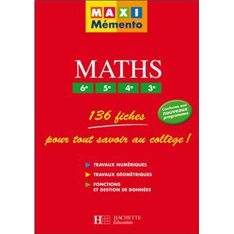 maths 6 me 5 me 4 me 3 me 136 fiches pour tout savoir au coll ge travaux num riques. Black Bedroom Furniture Sets. Home Design Ideas