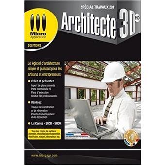 Architecte 3d hd sp cial travaux dvd rom for Architecte 3d avis