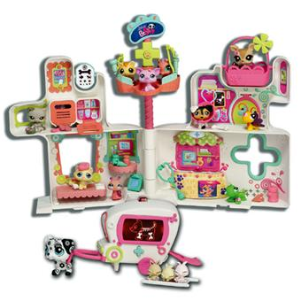 hasbro littlest petshop l 39 h pital des petshop univers miniature achat prix fnac. Black Bedroom Furniture Sets. Home Design Ideas