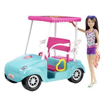 mattel barbie skipper voiturette de golf poup e achat prix fnac. Black Bedroom Furniture Sets. Home Design Ideas