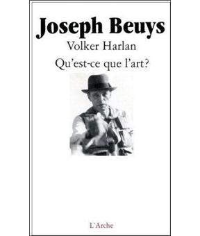 qu 39 est ce que l 39 art broch joseph beuys v harlan achat livre achat prix fnac. Black Bedroom Furniture Sets. Home Design Ideas