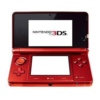 nintendo 3ds console de jeu portable rouge flamme. Black Bedroom Furniture Sets. Home Design Ideas