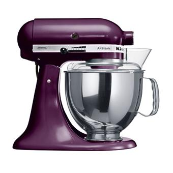 kitchenaid artisan 5ksm150pseby robot patissier prune achat prix fnac. Black Bedroom Furniture Sets. Home Design Ideas