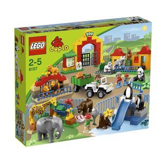 lego duplo 6157 le grand zoo lego achat prix fnac. Black Bedroom Furniture Sets. Home Design Ideas