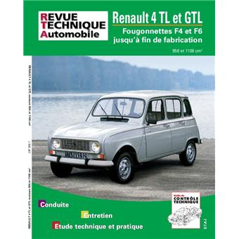 revue technique automobile 388 7 renault 4 gtl et. Black Bedroom Furniture Sets. Home Design Ideas