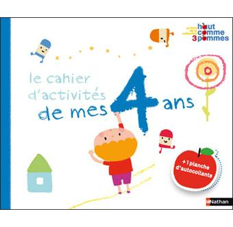 cahier 4 ans