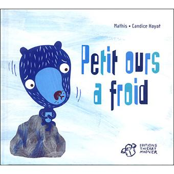 Petit ours a froid broch mathis candice hayat for Peut on coucher un frigo froid ventile