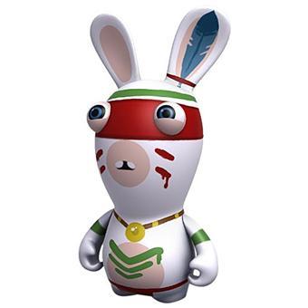Lapins cr tins retour vers le pass figurine indien sur jeux vid o achat prix fnac - Jeux lapin cretain gratuit ...