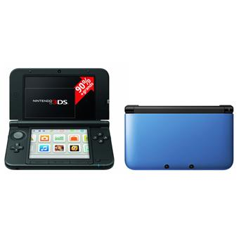 console nintendo 3ds xl bleue noire console de jeux portable achat prix fnac. Black Bedroom Furniture Sets. Home Design Ideas