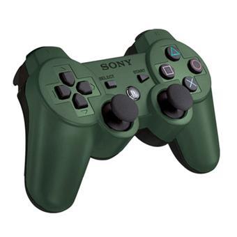 Manette playstation 3 vert kaki dualshock 3 manette ps3 - Ma playstation 3 ne lit plus les jeux ...