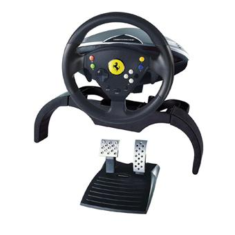 thrustmaster volant 360 modena force gt racing pour xbox accessoire console de jeux achat. Black Bedroom Furniture Sets. Home Design Ideas