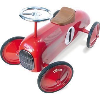 vilac voiture porteur m tal rouge porteur acheter sur. Black Bedroom Furniture Sets. Home Design Ideas