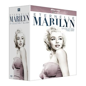 Marilyn Monroe : Eternelle - Coffret Blu-Ray - 7 Films