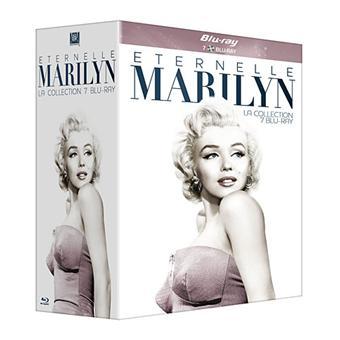 Marilyn Monroe : Eternelle - Coffret Blu-Ray - 7 Films