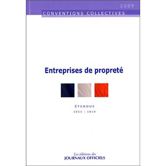Convention collective onet propreté