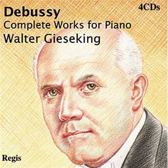 Walter Gieseking - Piano Solo