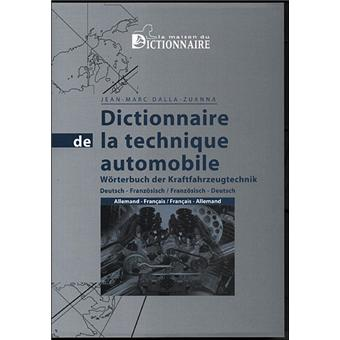 dictionnaire de la technique automobile broch jean. Black Bedroom Furniture Sets. Home Design Ideas