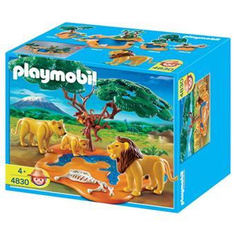 Playmobil 4830 famille de lions avec singes playmobil acheter sur - Playmobile savane ...